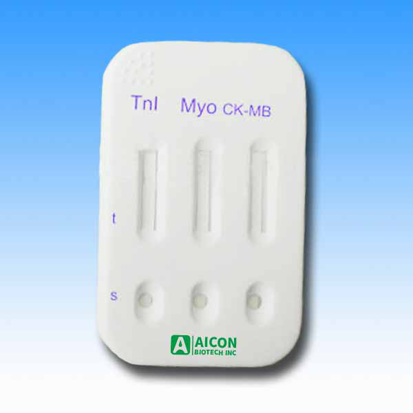 3 in 1 Cardiac combo Test Panel CMC-W02